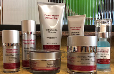 Flower Mound Dermatology - Private Line Skin Care Products